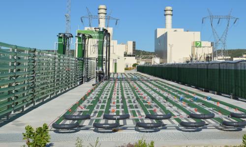 Planta de producció d'algues
